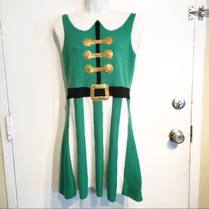 Christmas Holiday Elf Petite Costume Festive Dress